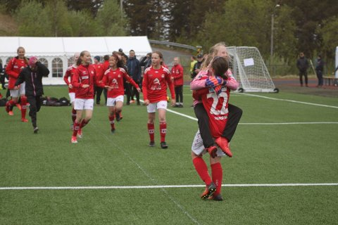 FOTBALLGLEDE: Funn Cup i Narvik har blitt et årlig høydepunkt for mange nordnorske fotball-lag.