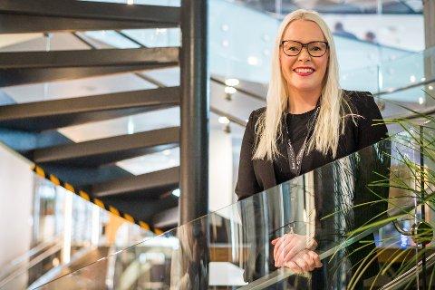 FØRSTE DAG: I dag hadde Ida Jakobsen første dsg på jobb.