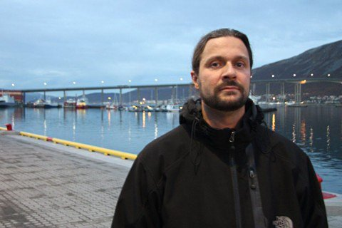 Leder i Utdanningsforbundet i Troms, Thomas Nordgård.