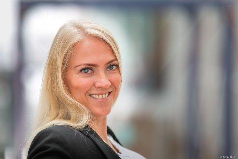 NY NSF-LEDER:  Lill Sverredatter Larsen (40) fra Tromsø.