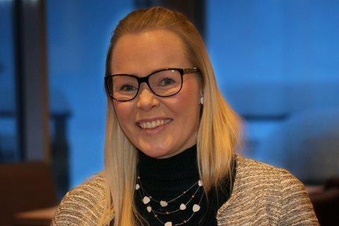 HÅRREISENDE: The Edge-direktør Ida Kristine Jakobsen er klar på hva hun mener om momsforslaget som regjeringa nå skal vurdere. Foto: Rune Endresen