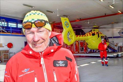 AVVISER KONTRAKTSBRUDD: Rune Midtgaard er administrerende direktør i Norsk Luftambulanse AS. Bildet er tatt i en tidligere anledning.