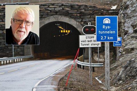 VIL SELGE: Styreleder Kjell Kolbeinsen (innfelt) jobber for å overføre aksjene i Ryaforbindelsen til Bompengeselskapet Nord. Først må han innhente tillatelse fra aksjonærene, og de er mange.