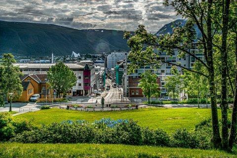 INGEN FESTIVAL HER: Festivalen Kongeparken vil, som navnet tilsier, ha festival i selve byparken. Det sier kommunen nei til.