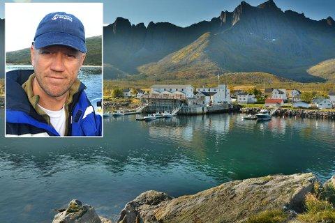 VOKST: Tommy Schanke Hansen har drevet Mefjord Brygge i 13 år. Siden han overtok har anlegget vokst, både i størrelse og omsetning. Foto: Privat
