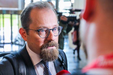 AKTOR: Statsadvokat Tor Børge Nordmo var aktor i saken mot Svein Ludvigsen. Her er Nordmo avbildet da saken startet i Nord-Troms tingrett i juni.