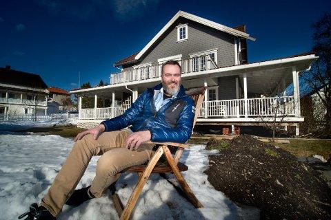 UTFLYTTER: Tromsøværingen Bård Stavem solgte huset og flyttet til Fredrikstad.
