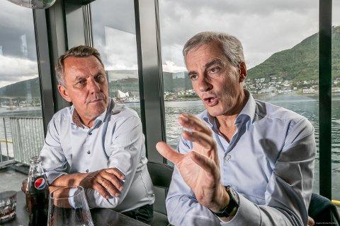 ORDFØRERKANDIDAT: Tromsø Aps ordførerkandidat, Gunnar Wilhelmsen, er veldig glad for at Jonas Gahr Støre ønsker å utrede muligheten for en jernbane i nord.