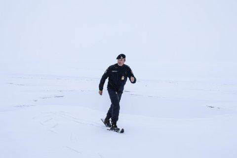 SKI OVER NORDPOLEN: Nestkommanderende Anders Krakstad har gått på ski over Nordpolen.