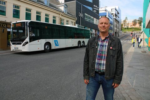 SKUFFET: Pål Julius Skogholt (SV).