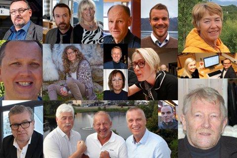 TOPP-KANDIDATENE: Her er et utvalg av mulige ordførere i Troms.