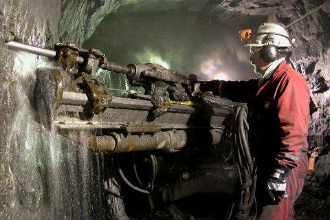 SVART GULL: Norges Geologiske Undersøkelser (NGU) har gjort lovende funn av grafitt flere steder på Senja, og anbefaler at industrien gjør nærmere undersøkelser.