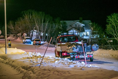 REDNINGSAKSJON: 2. desember ble det slått stor alarm etter funn av fire livløse mennesker i havet ved Fagereng.