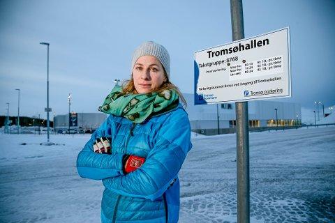FIKK BOT: Tone Prøsch-Bilden (34) betalte i feil sone og fikk bot.