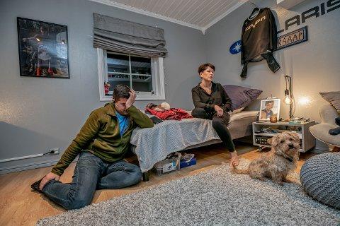 BARNEROMMET: Jim Øverli og Trine Guttormsen har latt rommet til Adrian stå urørt.