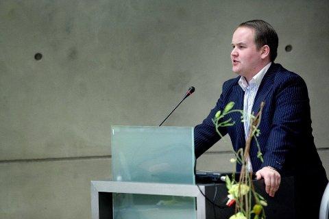 FORNØYD: Bjørn-Gunnar Jørgensen i Tromsø Frp mener at det var på høy tid at partiet trakk seg fra regjeringssamarbeidet.