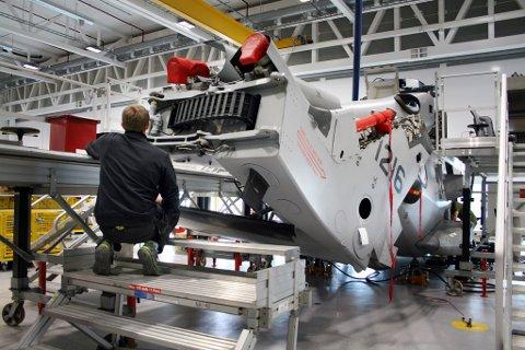Helikopterbasen på Bardufoss ble åpnet for tre år siden.