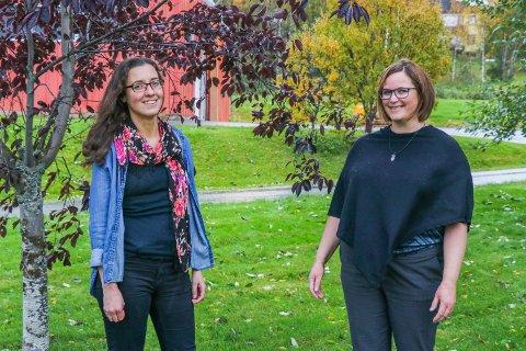 LIDELSE OG LIVET: Det er beinhardt å jobbe med å bli frisk. Det vet Astrid Weber (til venstre) og Siri Engstad, som begge har vært pasienter under psykisk helsevern ved UNN. Nå jobber de med å være en stemme med erfaring ved psykisk helse- og rusklinikken.