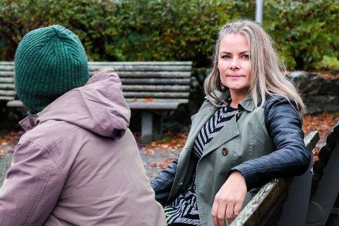 MISTER SEG SELV: Kjersti Fredheim, psykologspesialist ved UNN Åsgård, jobber med noen av de sykeste pasientene. - Å komme tilbake fra en psykose handler ofte om å finne tilbake til seg selv igjen.
