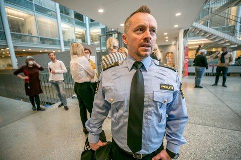 NEDGANG: Kenneth Helberg ser en nedgang i narkotikarelatert kriminalitet blant ungdommer i Tromsø.