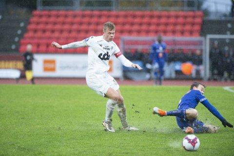 ØNSKET: Aune Heggebø er utlånt til Øygarden denne sesongen. Foto: Magne Turøy