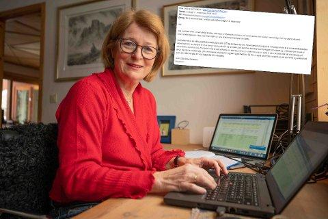 IKKE PRIORITERT: UiT-rektor Anne Husebekk sier de ikke ville prioritere å informere ansatte og studenter om uniformsbruk, fordi de hadde brukt mye penger på kommunikasjon og informasjonsarbeidet dette året.