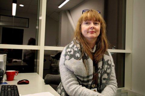 HAR FÅTT NOK: Tillitsvalgt for legene i Tromsø, Lise Figenschou, er skuffet over  kommunens manglende handling for å få på plass et brukbart journalsystem på byens sykehjem.