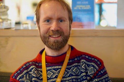 NY DAGLIG LEDER: Frode Haugstvedt Henriksen. Foto: Riddu Riđđu
