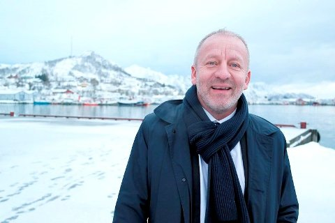 OMSTRIDT: Fiskeriminister Geir Inge Sivertsen er i hardt vær etter å ha søkt om etterlønn i Senja kommune samtidig som han hadde fått jobb som  statssekretær i Oslo. Foto: Næringsdepartementet.
