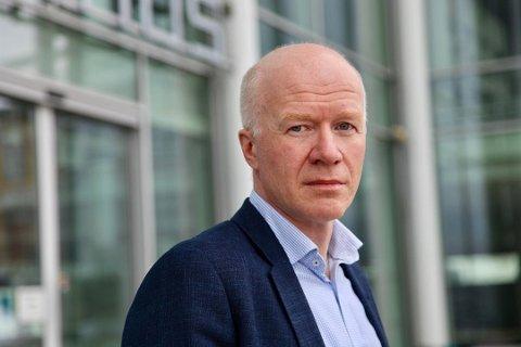 SER UT TIL Å GÅ NED: Trond Brattland, smittevernoverlege i kommunen, sier smittesituasjonen i Tromsø ser ut til å være på retur.