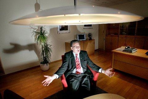 Tidligere statsråd, losjebror og fylkesmann Svein Ludvigsen