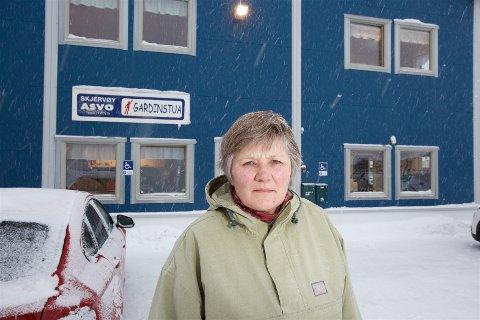 GÅR AV: Styreleder Irene Sandnes går av, og det nye styret har fått beskjed fra eierne om å anmelde den tidligere daglige lederen i Skjervøy ASVO etter at det er avdekket omfattende regnskapsjuks.
