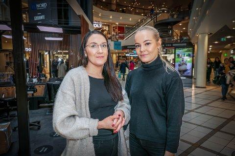 Eline Pedersen (30) har flyttet fra Tromsø, men kom etterhvert tilbake. Anna Hartvigsen (19) vurderer å flytte sørover for å studere, men ingen av dem mener det bør være grunn til bekymring.