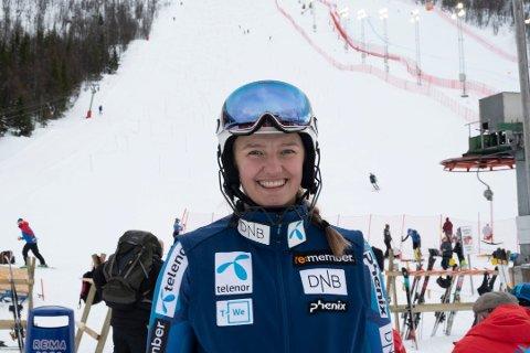 NORDNORSK ALIBI: Mariel Kufaas tok en 14.-plass lørdag. Foto: Kjell G. Karlsen