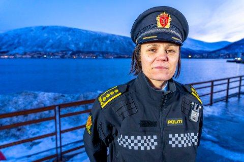 KORONAPOLITI: Politiet har gitt reaksjoner i tre koronarelaterte saker i Troms. Det forteller Anita Hermandsen, politistasjonssjef i Tromsø.
