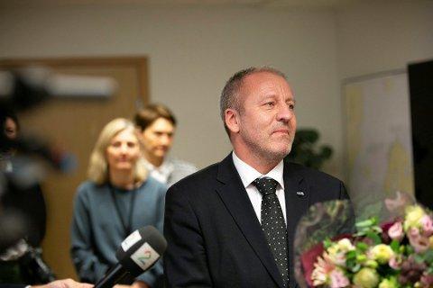TRAKK SEG: Tidligere Lenvik-ordfører Geir Inge Sivertsen (H) satt om fiskeriminister i en drøy måned, før han trakk seg i månedsskiftet februar-mars.