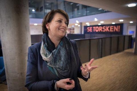 SKUFFET: Anne Marit Bjørnflaten er i dag kommunikasjonsdirektør i Hurtigruten, men satt åtte år på Stortinget for Ap. Hun er svært skuffet over fredagens beslutning om å si nei til Arctic Center-planene i Håkøybotn.