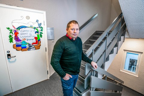 KLAR TIL KONFLIKT: Rune Bakkejord er leder av Utdanningsforbundet Tromsø.