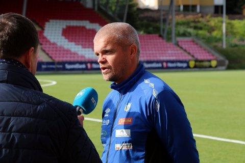 ENDER HER: Gaute Ugelstad Helstrup avbildet på Alfheim ved en tidligere anledning. Han er enig med TIL om hovedtrekkene i en personlig kontrakt, som trolig snart kan signeres.