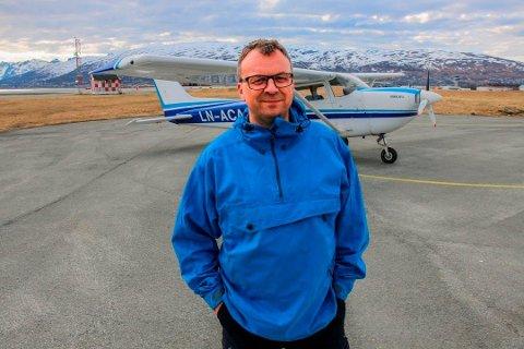 RAPPORT KLAR: Tirsdag var havarirapporten fra Statens havarikommisjon for transport klar, etter nødlandingen som Audun Mathiassen gjennomførte på Senja sommeren 2018.