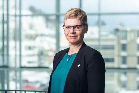 SLUTTER: Britt Elin Steinveg fratrer som kommunedirektør i Tromsø kommune.