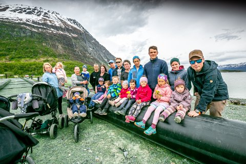 SINT OG FRUSTERT: Innbyggerne i Furuflaten ønsker en forlengelse av Pollfjelltunnelen.