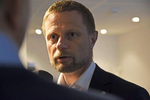 Helsemnister Bent Høie.