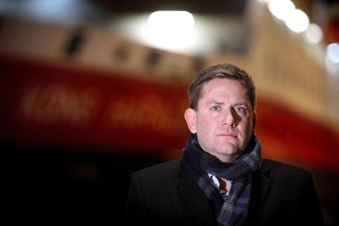 Daniel Skjeldam, konsernsjef i Hurtigruten Foto: Yngve Olsen