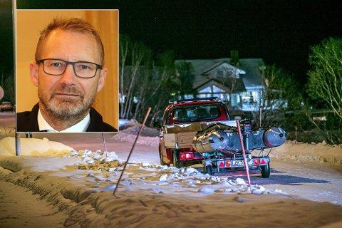 HENLAGT: Politiet varslet fredag at Fagereng-saken, der en mor og hennes to barn døde, er henlagt. Erik Ringberg (innfelt) har bistått faren i saken.
