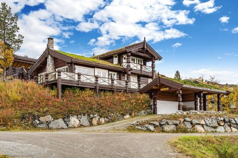 KOSTBAR: Denne hytta har en prislapp på 7,5 millioner