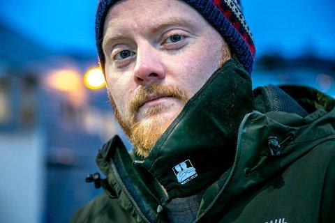 BEKYMRET: Leder i Mental Helse Troms og Tromsø, Ole-Marius Minde Johnsen (31), ber UNN ta grep for å få ned ventelister og fristbrudd.
