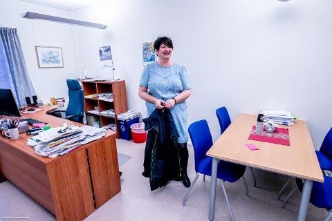 ORDFØRER: Mona Pedersen er ordfører i Karlsøy.