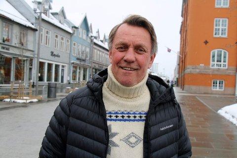 VIL BYGGE: Ordfører Gunnar Wilhelmsen håper å kunne åpne for mer boligbygging i Tromsøs distrikter.