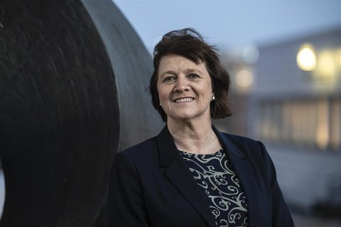 FYLKESRÅD: Kristina Hansen (Ap) lover å gjøre veiene på Reinøya fremkommelige i nær fremtid.